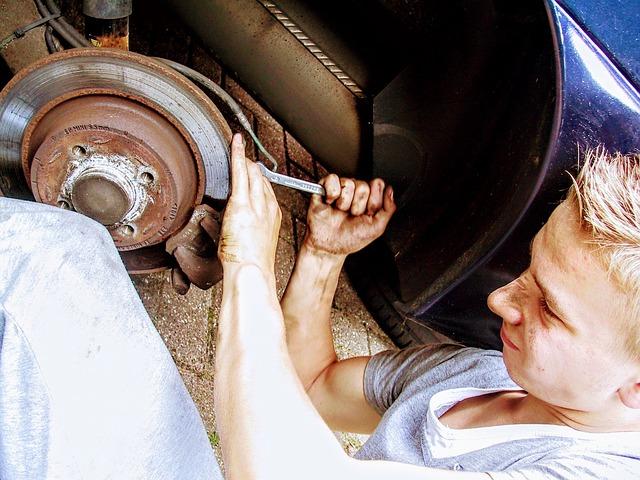 oprava kotoučové brzdy