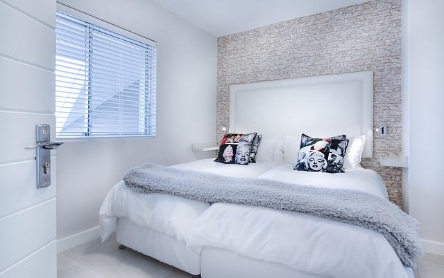 minimalistická ložnice