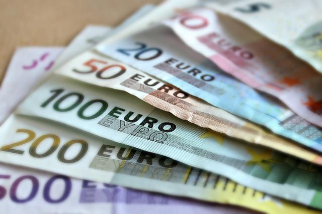 všechny bankovky eur
