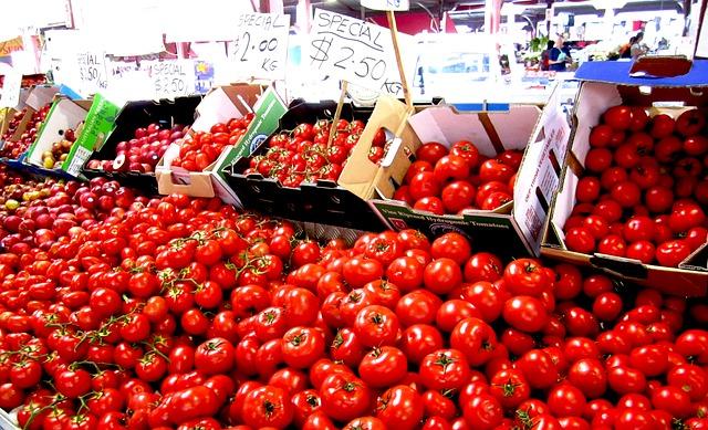 krabice rajčat