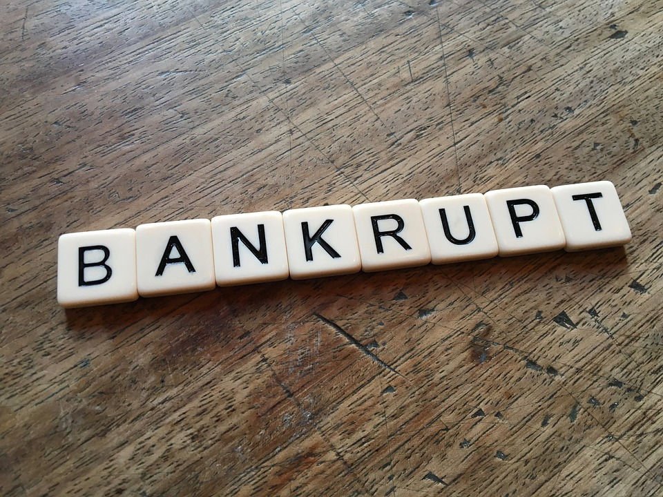 slovo Bankrot